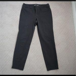 dark gray old navy pixie pants